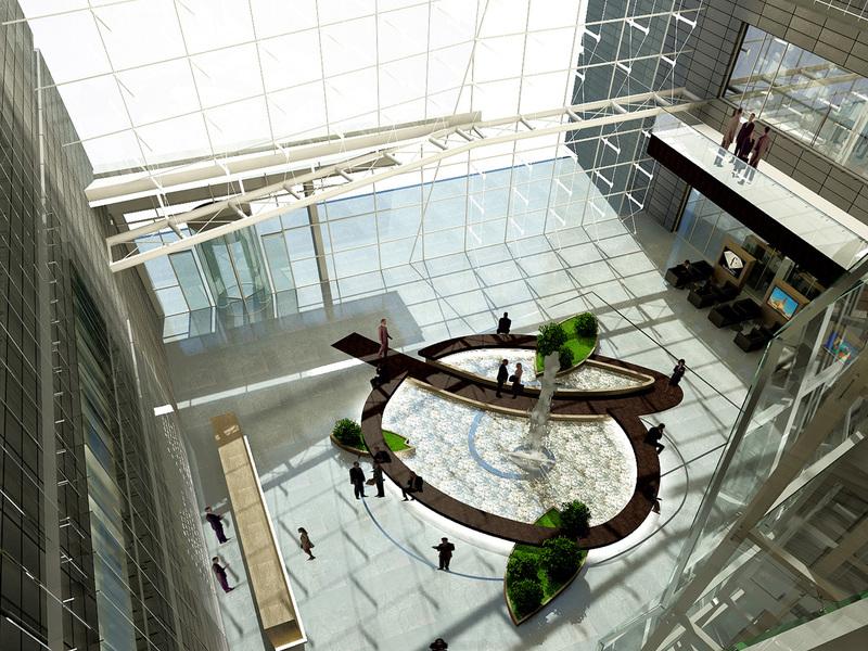 Озеленение бизнес центра