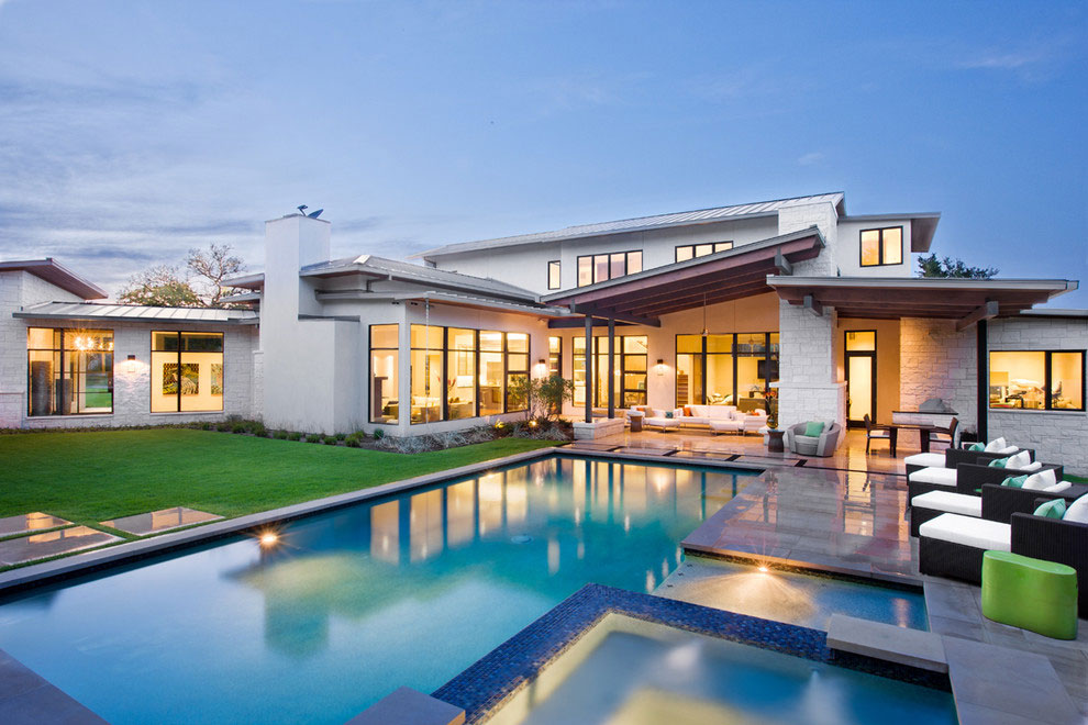 проекты домов и коттеджей с бассейном фото нет